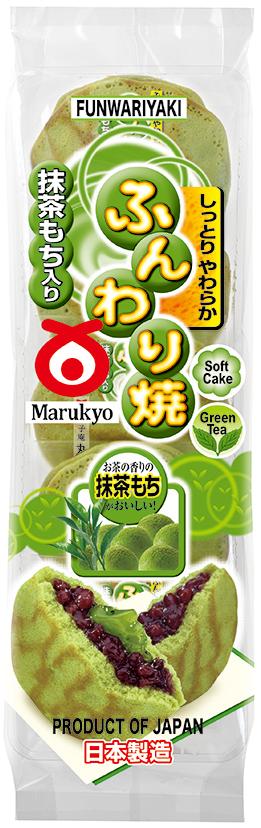 Matcha Mochi Funwariyaki 5pcs