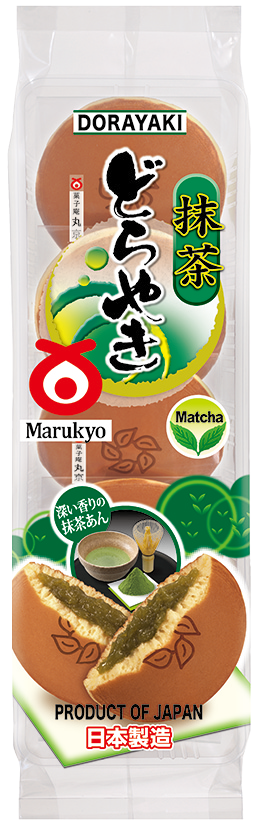 Matcha Dorayaki 5pcs