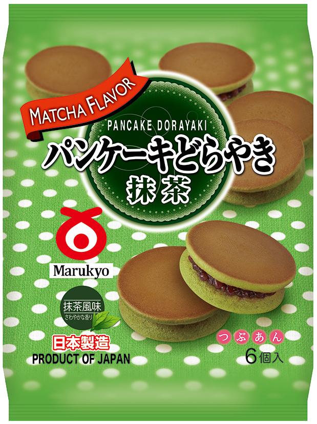 Pancake Dorayaki (Matcha) 6pcs